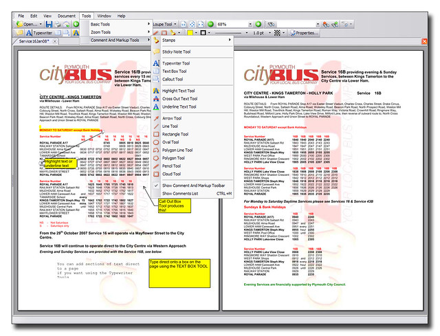 pdf xcgange viewer format text
