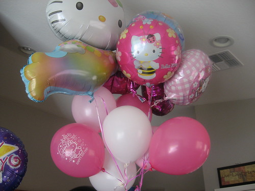 Hello Kitty on Helium