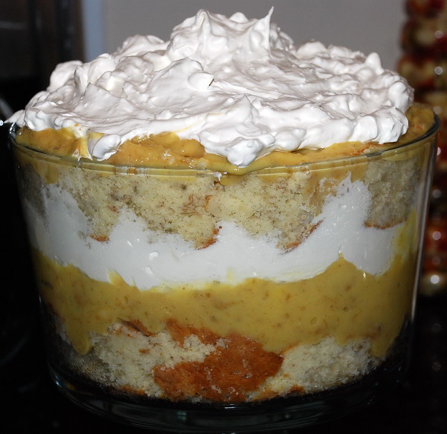 Bananas Foster Trifle Recipe — Dishmaps