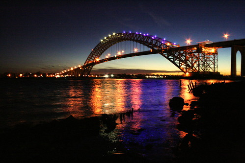 Bayonne Bridge...at its best by Manny Pabla