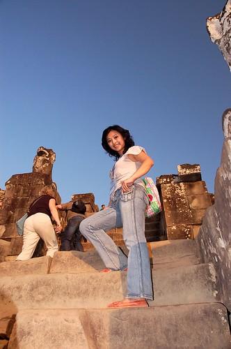 sunset phnombakheng 日落 第三天 巴肯山 巴肯特山