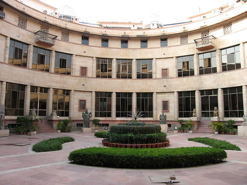 Courtyard of the National Museum in New Delhi