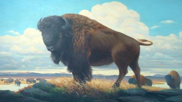 Bison Bison Painting Bison Painting