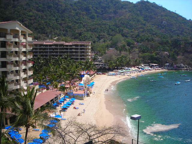 Mismaloya Beach Resort, Puerto Vallarta, Mexico