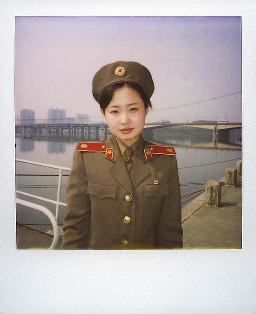 Kim, Pyongyang North Korea, DPRK Polaroid 북한