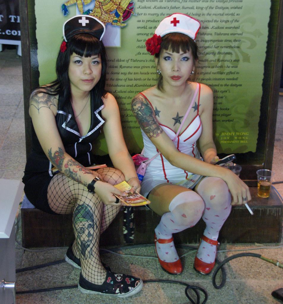 Thai Girl Tattoo Tattoo Arts Festival In Pattaya