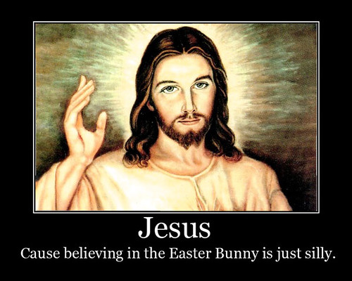 Funny Easter Bunny Jesus