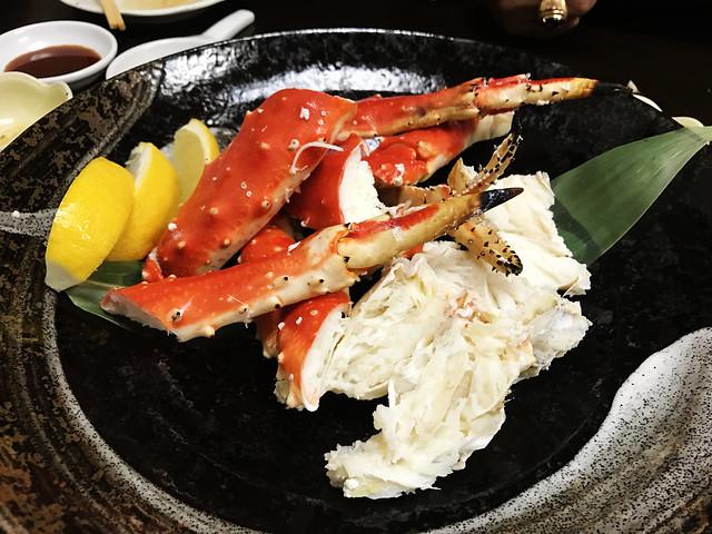 Crab at Sapporo