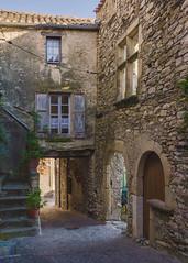 Rue du Mazel. Olargues