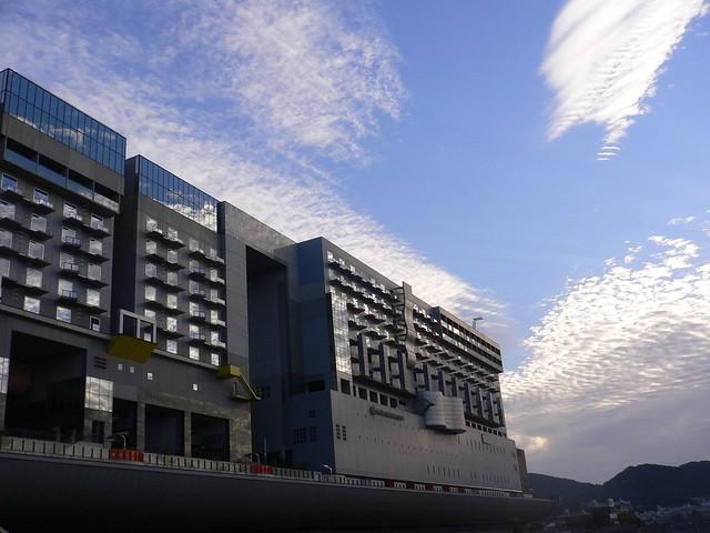 朝のホテルグランヴィア京都