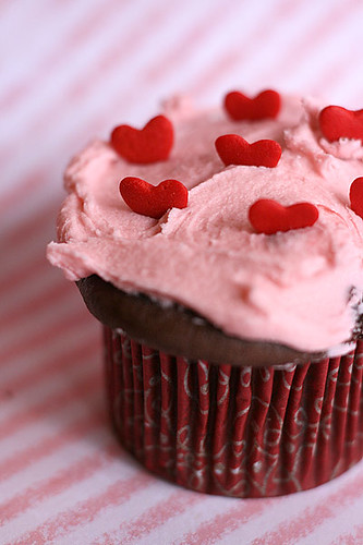 I heart pink cupcakes