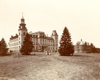 Old Main and Morrill Hall, circa 1890s