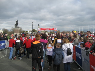 Starting - Sport Relief 2008 @ Plymouth