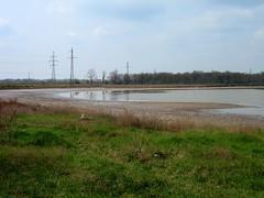 wetland, floodplain, land lot, polder, reservoir, pond, waterway, marsh,