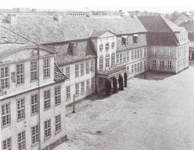 Neubrandenburg Palais historisch Postkarte