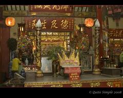 2008-10-01 Bangkok, China Town, Temple