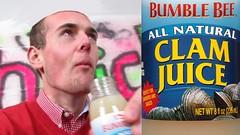 CLAM JUICE CHALLENGE 😭 Drinking Clam Juice *Vomit Alert*