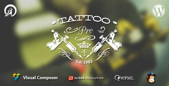 Tattoo Pro v1.6.5 - Your Tattoo Shop WordPress Theme