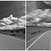 Louie Road diptych