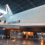 Steven F. Udvar-Hazy Center: Space Shuttle Enterprise (starboard view)