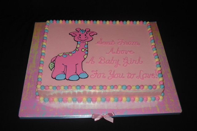 what to write on a baby shower cake giraffe baby shower cake flickr