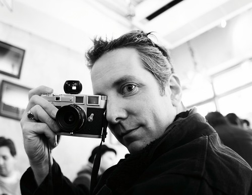 Jim and his Leica III
