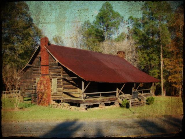Dogtrot Log Cabin Autrey House Dubach Louisiana Built