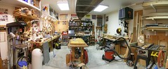 woodworking shop panarama