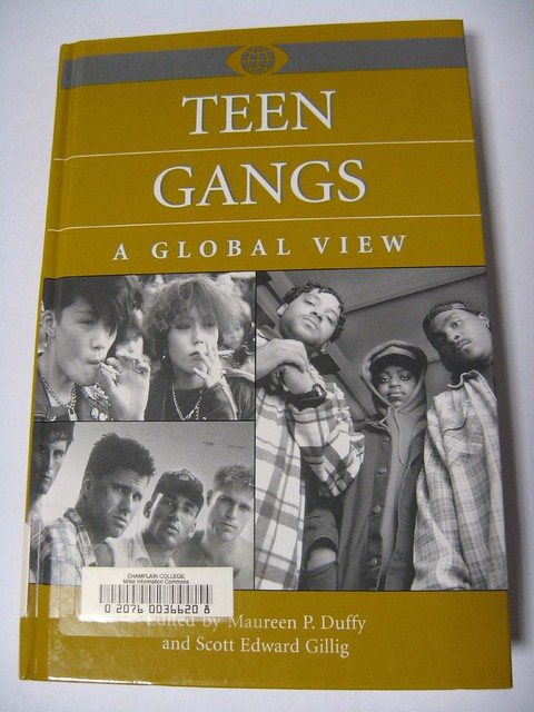 Teen Gangs: A Global View Edited by Maureen P. Duffy Find it in the Catalog
