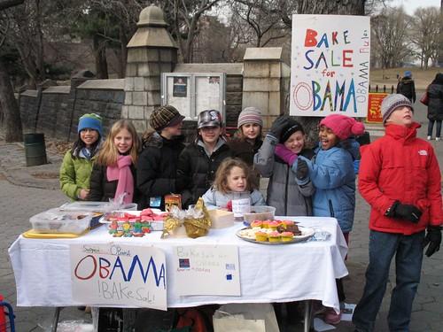 Obama bake sale