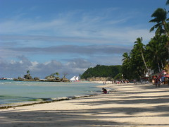 Boracay Beach Philippines Willy's Rock Strand Meer Philippinen