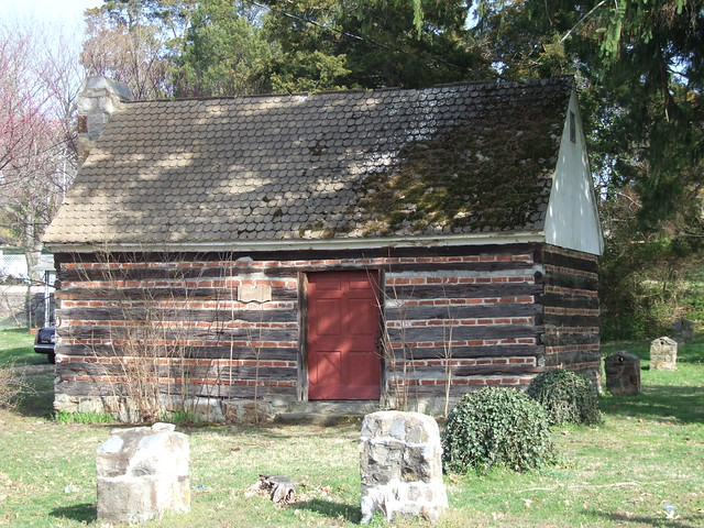 Colonial Log Cabin Falmouth Fredericksburg Virginia