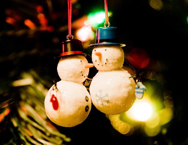 Two Lil Snowmen...