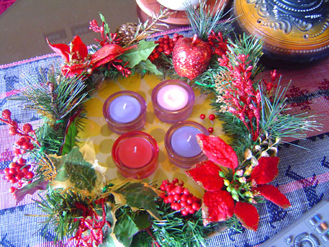 advent wreath | Flickr - Photo Sharing!