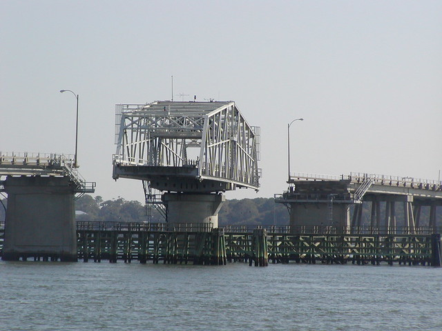 SC - Beaufort - The Swing Bridge