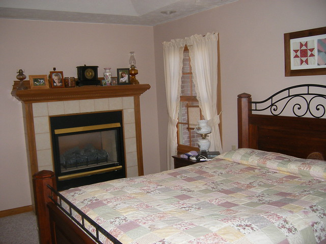 two way gas fireplace in bedroom flickr photo