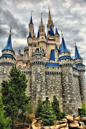 Disney - Cinderella Castle From East HDR