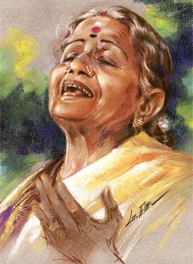 subbulakshmi hanuman chalisa