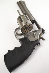 Smith & Wesson Model 686 Revolver with Cylinder Open