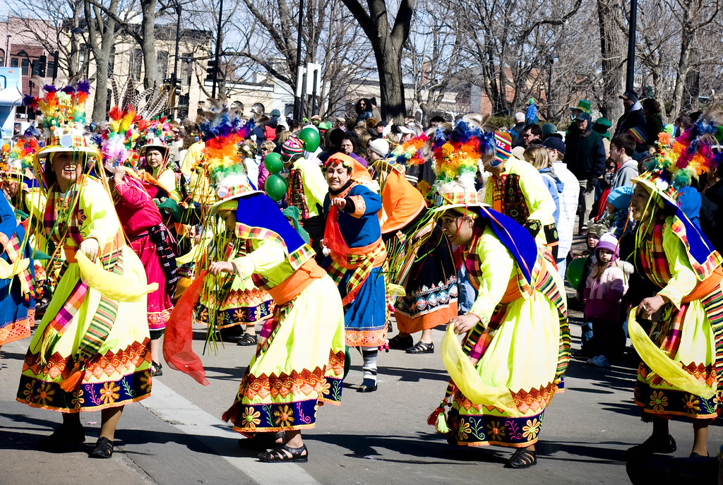 Traditional dancers, Madison, Wisconsin