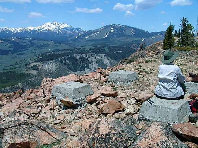 Summit of Bunsen Peak Trail, Yellowstone National Park, WY