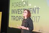 Tue, 02/21/2017 - 20:32 - Our CEO and host for the evening, Claire Tillekaerts, takes the floor at the #FITrophy2017  For the fifth year in a row, Flanders Investment & Trade held the prestigious Foreign Investment Trophy on February 21, 2017. The Ghelamco Arena in Ghent provided a setting fit for this thrilling investment competition – highlighting the importance of foreign investment as an economic driver in Flanders and the world.  While five multinationals competed for the trophy for Investment of the Year, two other investors were acknowledged – one with the Lifetime Achievement Trophy, the other with the title of Newcomer of the Year.