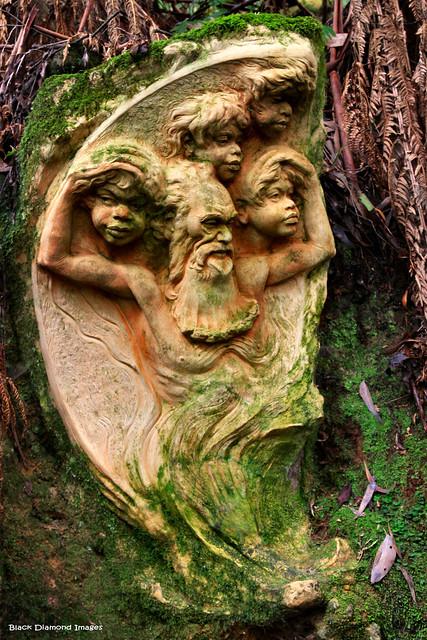 William Ricketts Sanctuary - Olinda, Dandenong Ranges, Victoria.