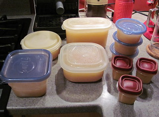 Chicken stock - packaged
