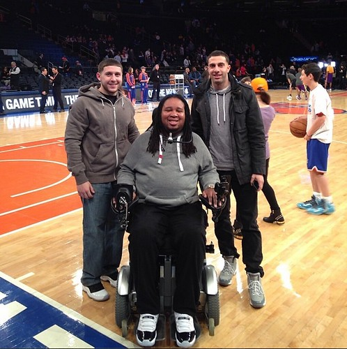Eric LeGrand New York Knicks