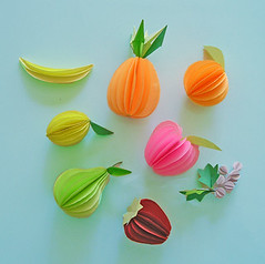 Paper Lemon 1 Photos | Paper Fruits - paper sculptures | 243