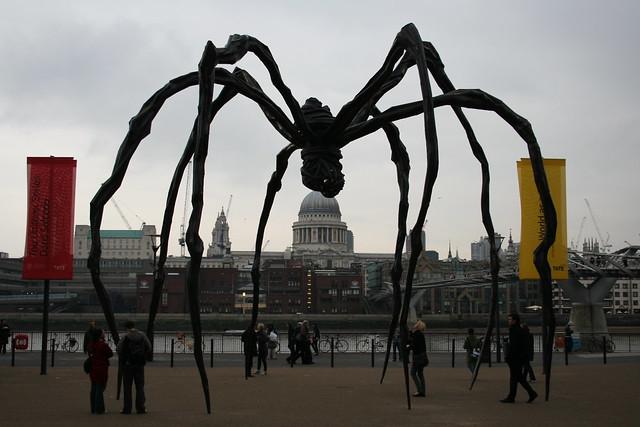 Tate Modern giant spider, London