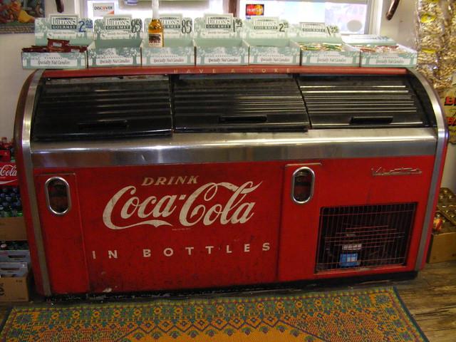 chest style coke machine
