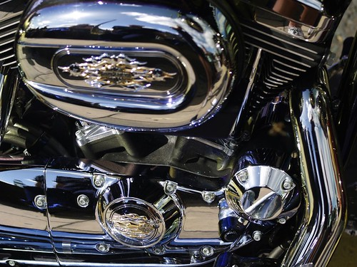 Harley-Davidson Chrome Engine