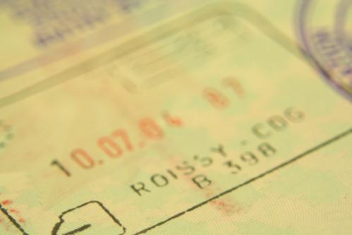 Passport stamp: France